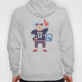 American Football Bear Hoody
