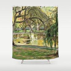 Public Garden 2 Shower Curtain