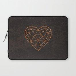 COPPER HEART Laptop Sleeve