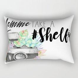 Lemme Take a #Shelfie Rectangular Pillow