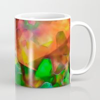 chaos Mugs featuring Chaos by Just Art