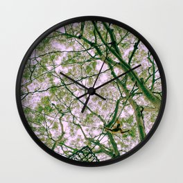 Monkey Web Wall Clock