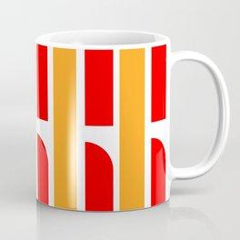 Bauhaus Font art: Joschmi & Xants Coffee Mug