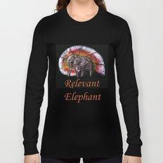 Relevant Elephant Long Sleeve T-shirt