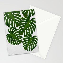 Monstera Leaf I Stationery Cards