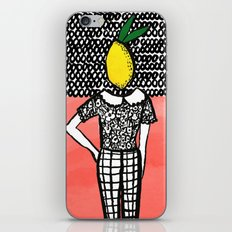 Lemon Head iPhone & iPod Skin