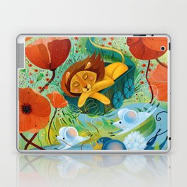sleeping lion Laptop & iPad Skin
