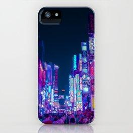 Neon Streets - Neon Tokyo Series iPhone Case
