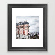 Paris Postcards. Framed Art Print