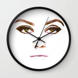 Pieces - Mila Kunis Wall Clock