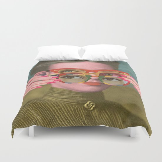TRIFOCALS Duvet Cover