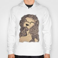 lions Hoodies featuring Lions by Zora Chen