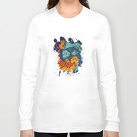 koi fish Long Sleeve T-shirts featuring Koi Fish by Spooky Dooky