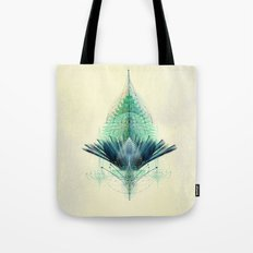 The Feathered Tribe Abstract / I Tote Bag