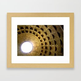 Burst of Light Framed Art Print