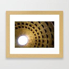 Burst of Light Framed Art Print