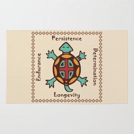 Turtle animal spirit Rug