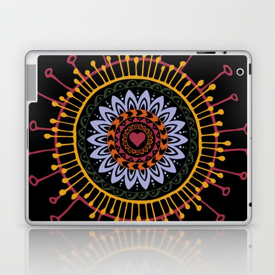 Mandala hand 1 Laptop & iPad Skin
