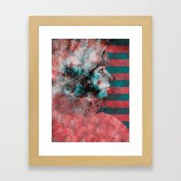 Wonder Into The Future Framed Art Print