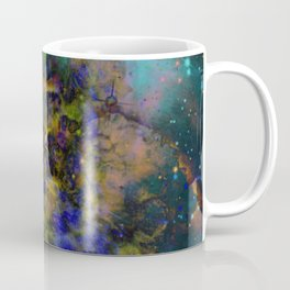 Evolving Space - Abstract, outer space painting Coffee Mug
