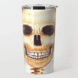 Watercolor Catrina Travel Mug
