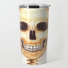 Watercolor Catrina Travel Mug