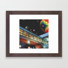 Dream with your eyes open Framed Art Print