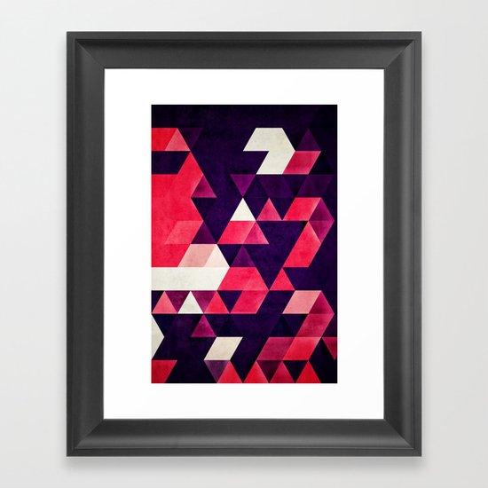 cyrysse lydy Framed Art Print