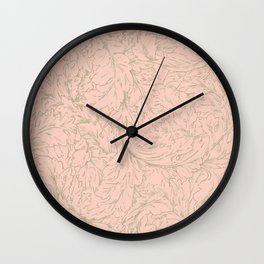 "William Morris ""Acanthus Scroll"" 10. Wall Clock"