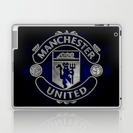Manchester United Black Edition Laptop & iPad Skin