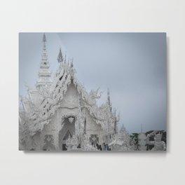 The White Temple - Thailand - 001 Metal Print