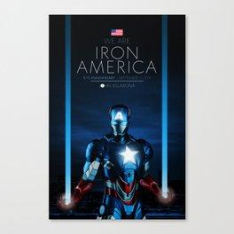 IRON AMERICA 9/11 Canvas Print