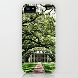 New Orleans Plantation iPhone Case