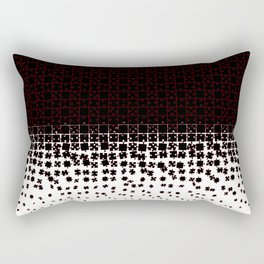 Be at Peace Not in Pieces Rectangular Pillow