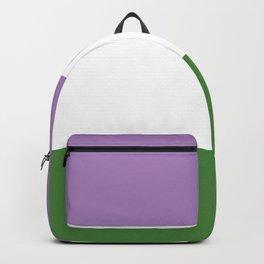 Genderqueer Pride Backpack