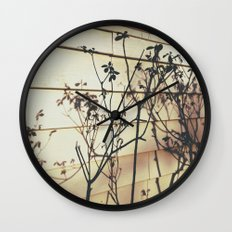 Branches Reflections Wall Clock