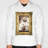 sloth Hoodies featuring Sloth Astronaut by Bakus