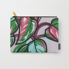 Philodendron Pink Princess Carry-All Pouch