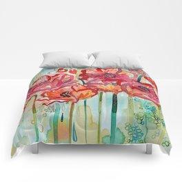 River Poppies Comforters