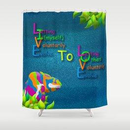 Live2Love Kip Shower Curtain