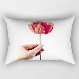 Red Background 04 Rectangular Pillow