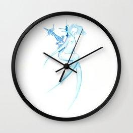 Winter fairy Wall Clock