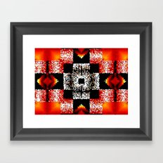 4 Winds and Fire Framed Art Print