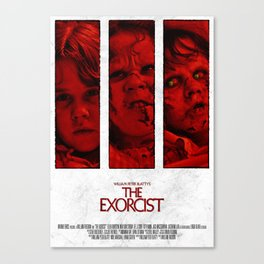 The Exorcist - Tryptich Canvas Print