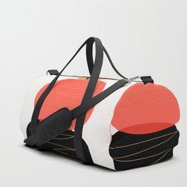 Modern minimal forms 2 Duffle Bag