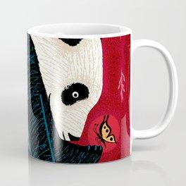 The Panda and the Butterfly Coffee Mug