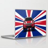 uk Laptop & iPad Skins featuring UK Cooper by McGrathDesigns