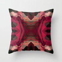 baroque Throw Pillows featuring BAROQUE by Mike Maike