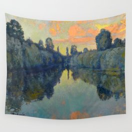 Václav Radimský (1867-1946) River Nooks Impressionist Landscape Oil Painting Wall Tapestry