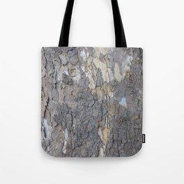 brown sycamore bark Tote Bag
